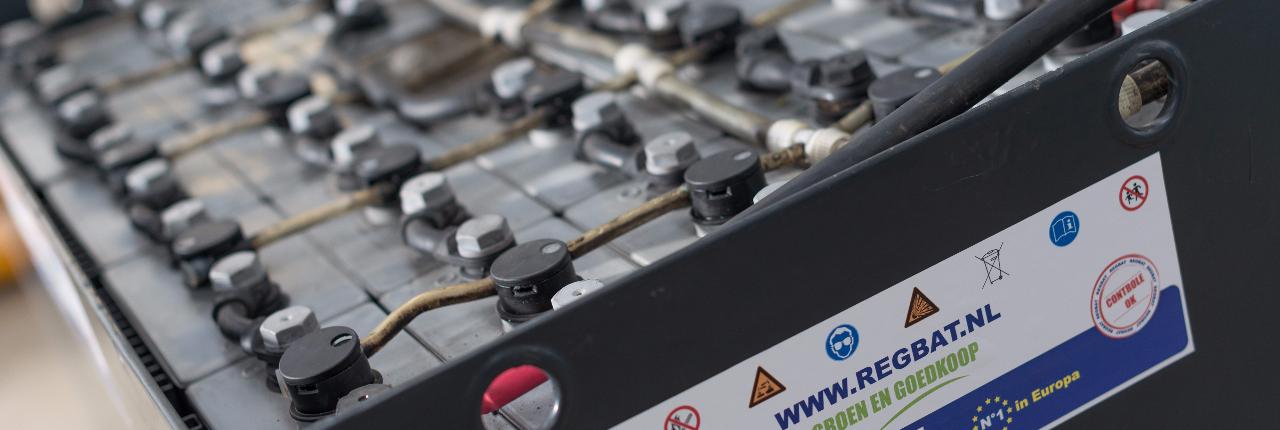 Regbat tractiebatterij